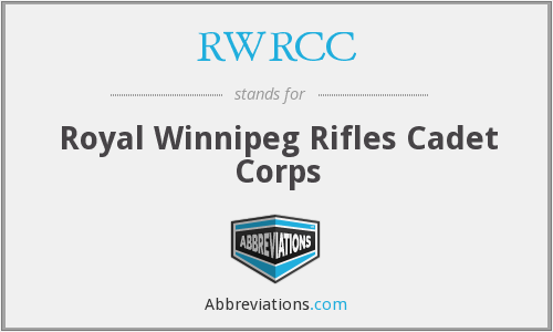 What does RWRCC stand for?