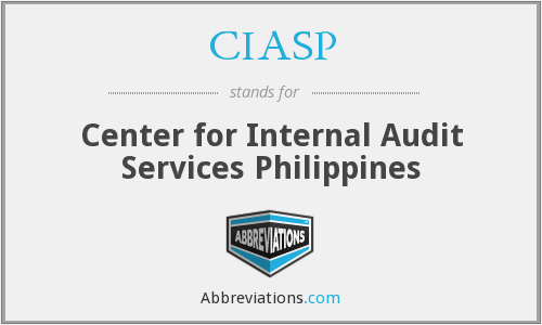 CIASP - Center for Internal Audit Services Philippines
