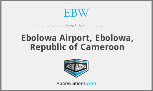 What does EBW stand for?