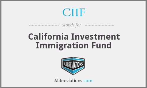 What does CIIF stand for?