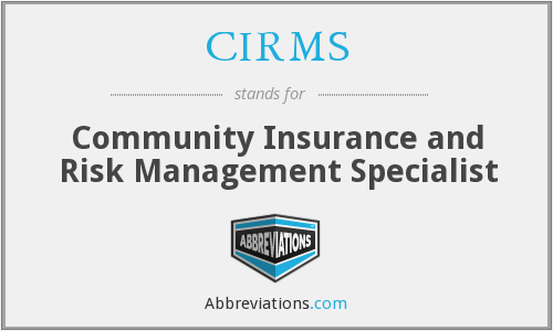 What does CIRMS stand for?