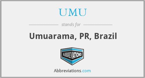 UMU - Umuarama, PR, Brazil