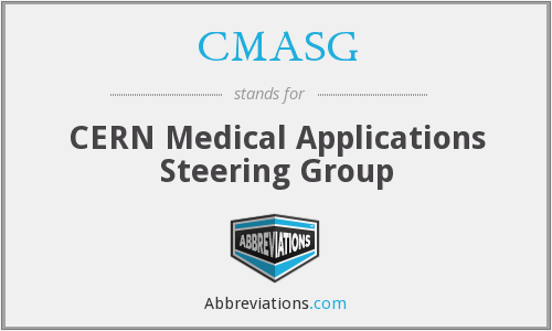 CMASG - CERN Medical Applications Steering Group