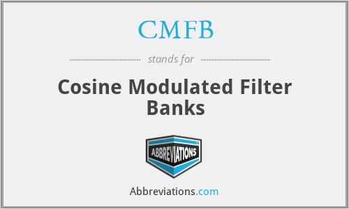 CMFB - Cosine Modulated Filter Banks