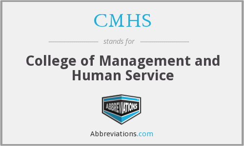 CMHS - College of Management and Human Service