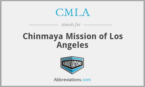 CMLA - Chinmaya Mission of Los Angeles