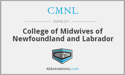 CMNL - College of Midwives of Newfoundland and Labrador