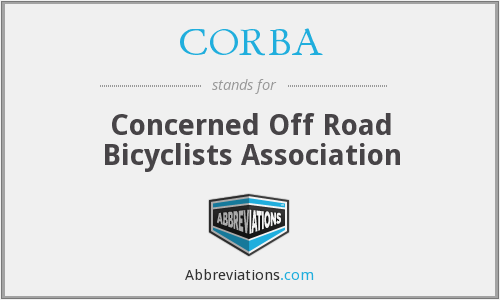 CORBA - Concerned Off Road Bicyclists Association