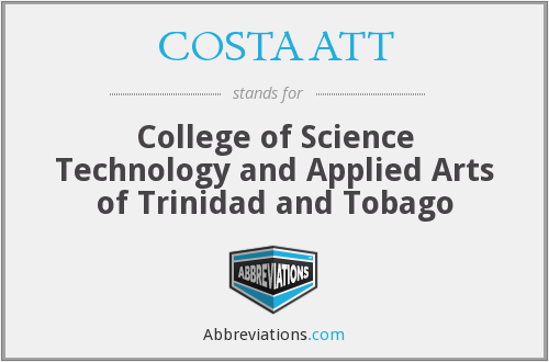 What does COSTAATT stand for?