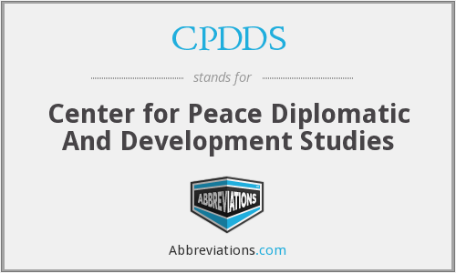 What does CPDDS stand for?