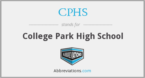 CPHS - College Park High School