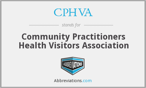 What does CPHVA stand for?