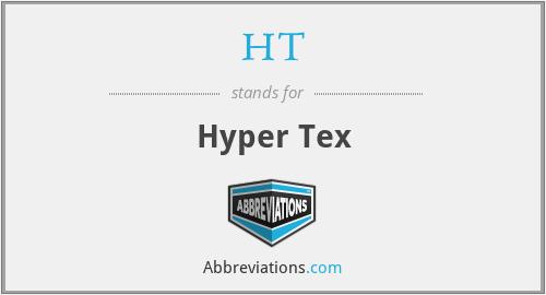 HT - Hyper Tex