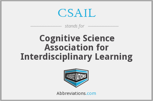 CSAIL - Cognitive Science Association for Interdisciplinary Learning