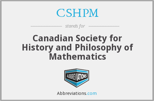 What does CSHPM stand for?