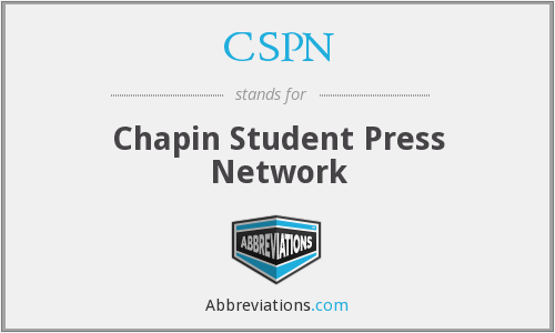 What does CSPN stand for?