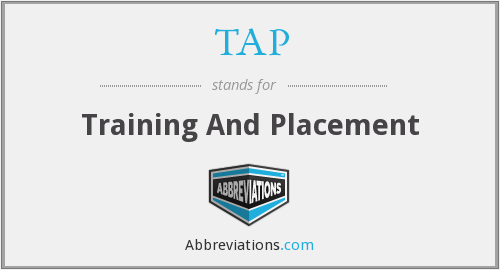 TAP - Training And Placement