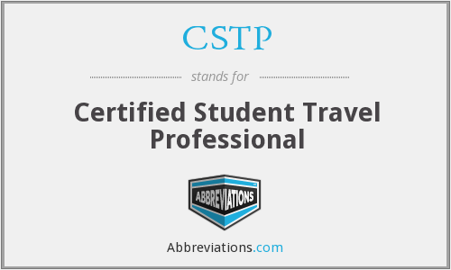 CSTP - Certified Student Travel Professional