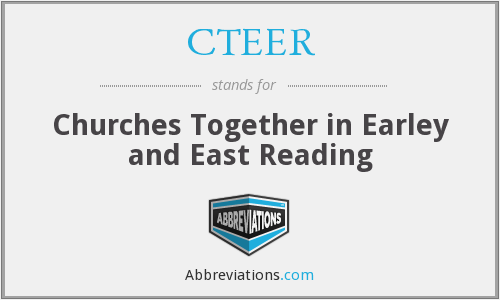 CTEER - Churches Together in Earley and East Reading