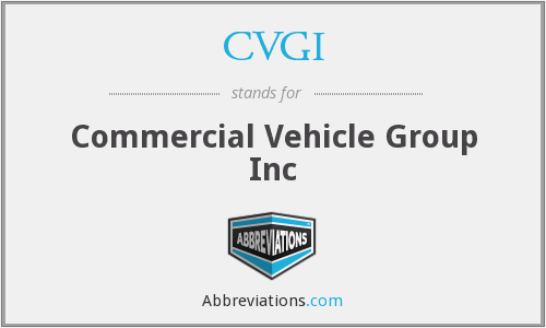 What does CVGI stand for?
