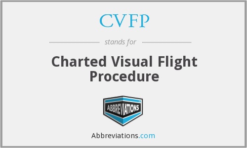CVFP - Charted Visual Flight Procedure