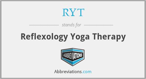 RYT - Reflexology Yoga Therapy