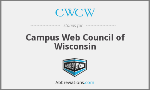 What does CWCW stand for?
