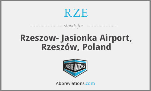 What does RZE stand for?
