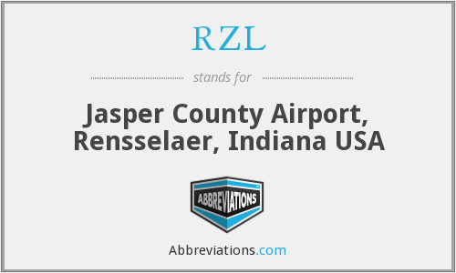 RZL - Jasper County Airport, Rensselaer, Indiana USA
