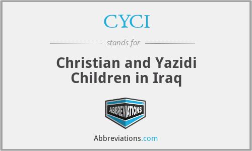 CYCI - Christian and Yazidi Children in Iraq