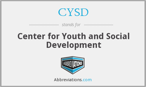 What does CYSD stand for?