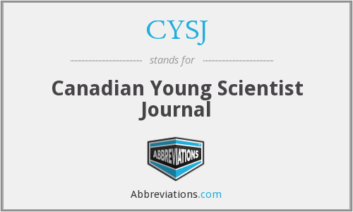 What does CYSJ stand for?