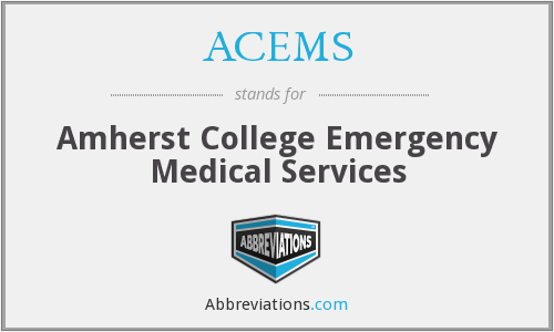 What does ACEMS stand for?