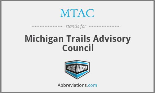 MTAC - Michigan Trails Advisory Council