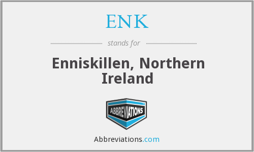 ENK - Enniskillen, Northern Ireland