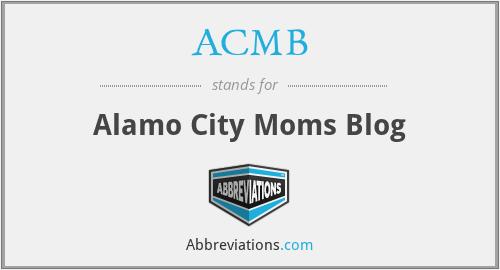 ACMB - Alamo City Moms Blog