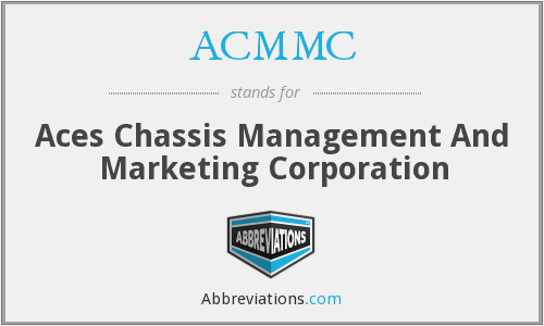 ACMMC - Aces Chassis Management And Marketing Corporation