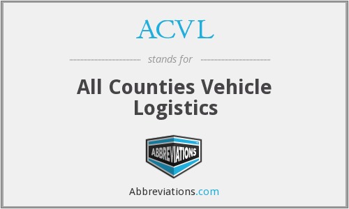 ACVL - All Counties Vehicle Logistics