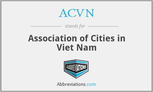 ACVN - Association of Cities in Viet Nam
