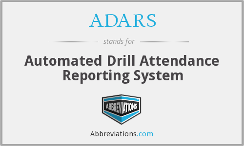 ADARS - Automated Drill Attendance Reporting System