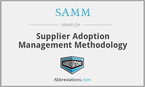 security assistance management manual samm