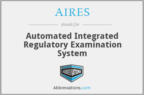 AIRES - Automated Integrated Regulatory Examination System