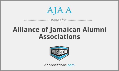 AJAA - Alliance of Jamaican Alumni Associations