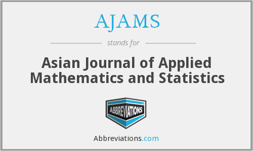 What does AJAMS stand for?