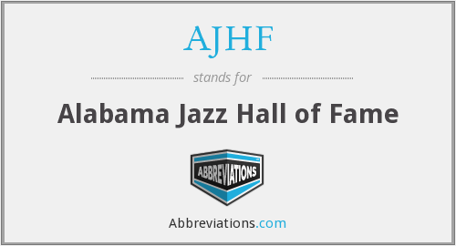 What does AJHF stand for?