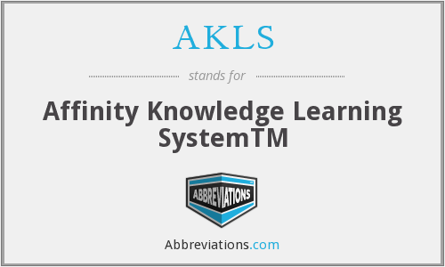 What does AKLS stand for?