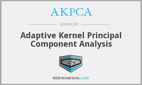 What does AKPCA stand for?