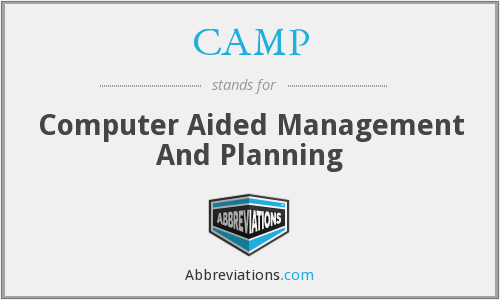 CAMP - Computer Aided Management And Planning