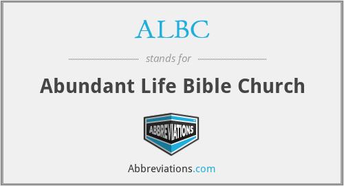 ALBC - Abundant Life Bible Church