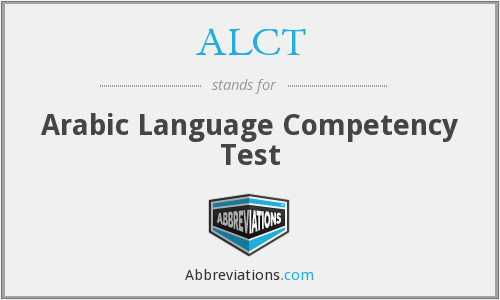 What does ALCT stand for?